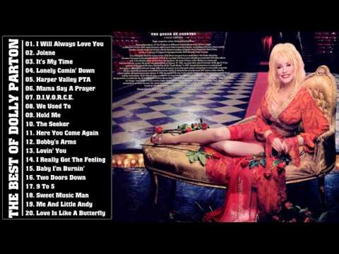 Dolly Parton Greatest Hits Playlist - Best Of Dolly Parton