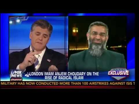Sean Hannity interview with Anjem Choudary about ISIS and Sharia Law