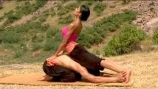 Couple yoga for harmony