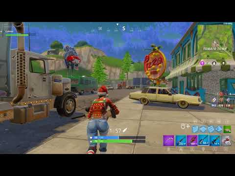 Solo Win 14 Kill Tomato Town [Fortnite BR]