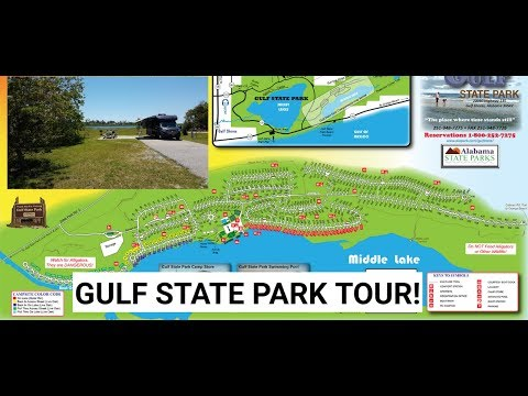Gulf State Park Tour And Review
