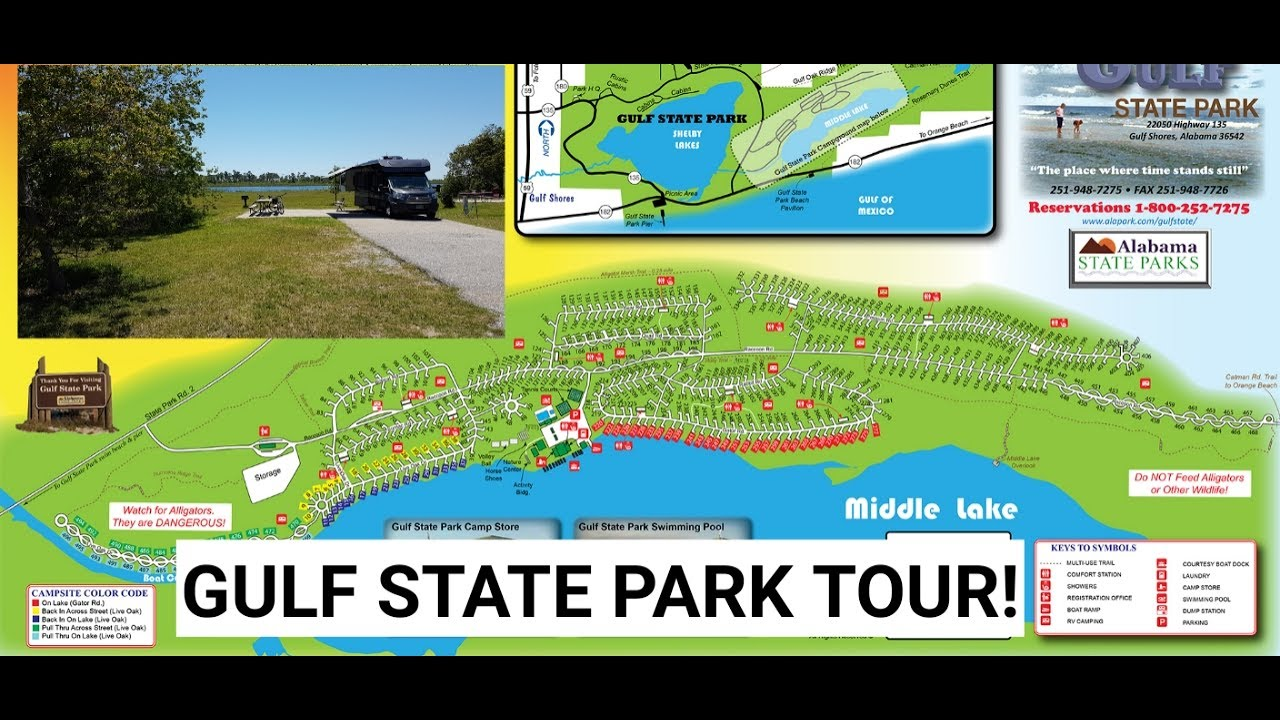 Gulf State Park Campground Map Gulf State Park Tour And Review   YouTube Gulf State Park Campground Map
