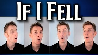 If I Fell (The Beatles) - A Cappella Barbershop Quartet - Julien Neel