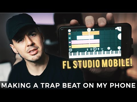 MAKING A BEAT ON FL STUDIO MOBILE! Making A Trap Beat From Scratch FL Studio | [EP #31] - Kyle Beats
