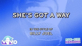 Billy Joel - She's Got A Way (Bite Size Karaoke)