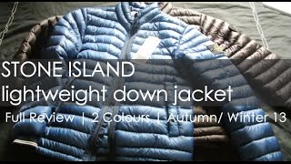 Genuine Stone Island Lightweight Puffer Jacket Review