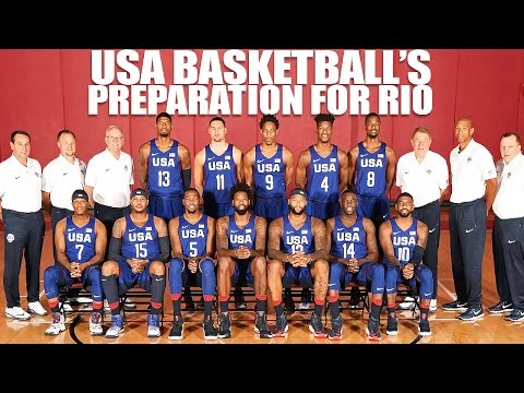Exclusive Look at USA Basketball's Preparation for the 2016 Summer Olympics