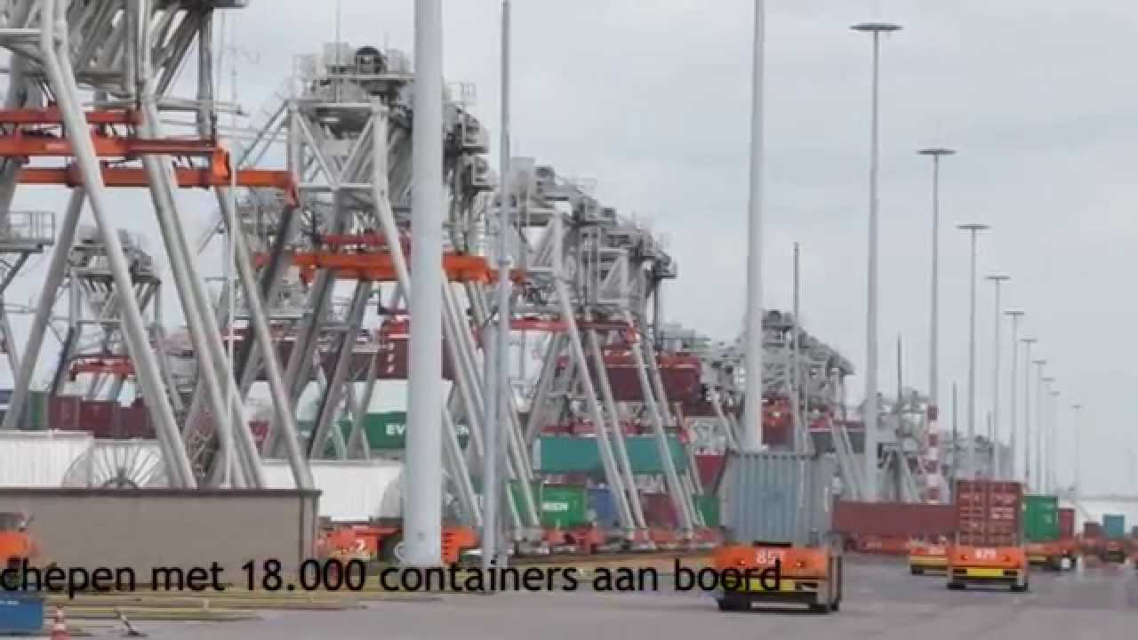 ECT Delta Terminal Maasvlakte Rotterdam