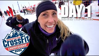 Norwegian CrossFit® Championships: Day 1 // Snow Run, 40 RMU and 13.1