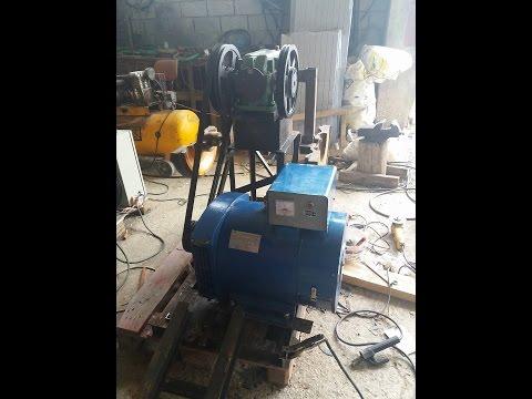 Pump Jack Generator Electrico Gravitational On Load
