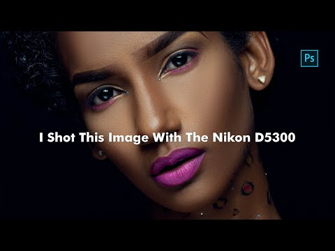 Retouching an old image I shot with the Nikon D5300 -  Photoshop Tutorial thumbnail