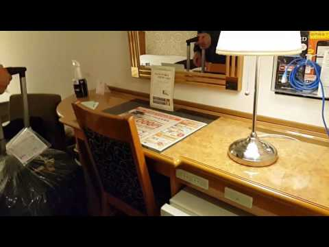 Twin room of APA Kyoto Ekimae Hotel, Kyoto Station
