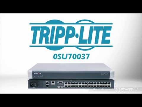 Product Tour: Tripp Lite Minicom Smart 232 IP 32-Port KVM Switch
