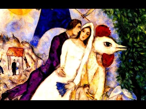 The Barry Sisters ☆ Medley ☆ Marc Chagall Paintings ᴴᴰ