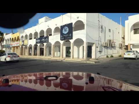 Practice driving in Muscat, Oman
