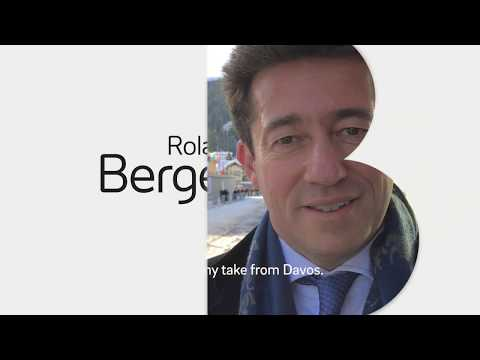 Roland Berger CEO Charles-Edouard Bouée at #WEF18