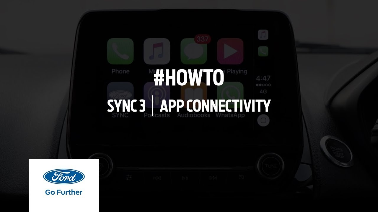 app connectivity with sync 3 ford india youtube. Black Bedroom Furniture Sets. Home Design Ideas