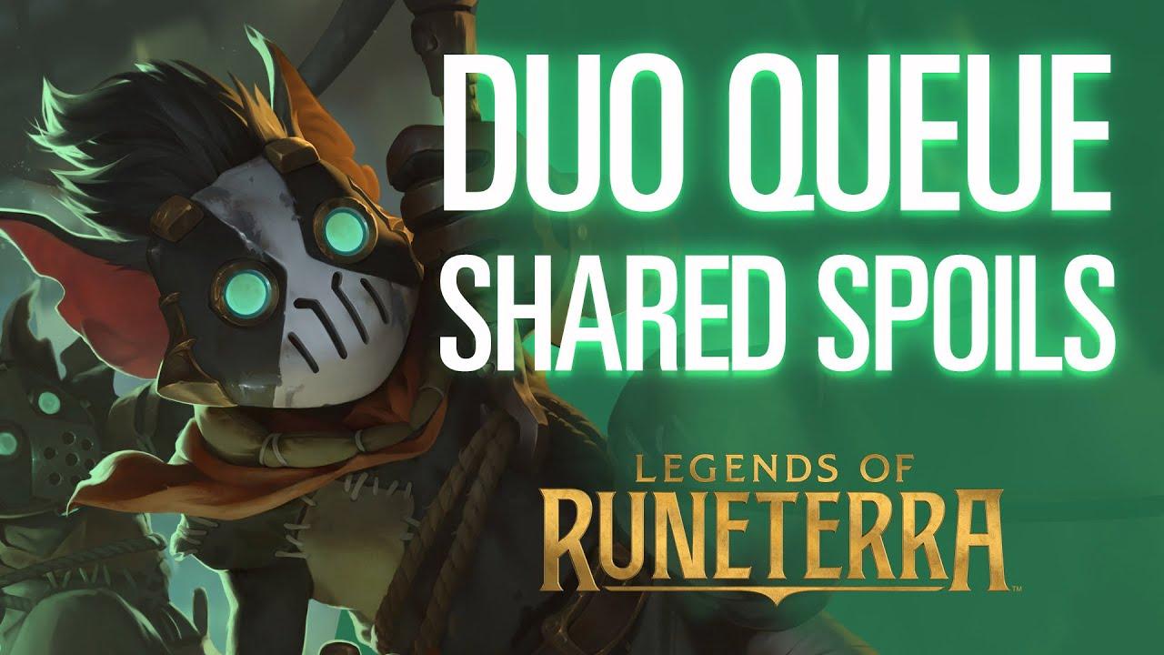 Duo Queue: Shared Spoils Lab Gameplay Trailer | Legends of Runeterra