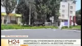 Нидерланды опубликовали доклад о крушении Boeing на Украине
