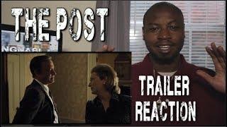 THE POST Official Trailer (2018) Steven Spielberg, Tom Hanks, Meryl Streep Movie REACTION