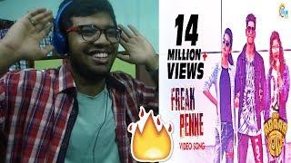 Oru Adaar Love| Freak Penne Rap Song| Priya Varrier, Roshan, Noorin Shereef| Shaan Rahman|Reaction