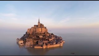 The Magical Mont-Saint-Michel: an Island once more at high tide(Over twenty times a year, there is an amazing natural show as exceptionally high tides totally surround the Mont-Saint-Michel. A real sight to behold!, 2015-03-26T13:20:21.000Z)