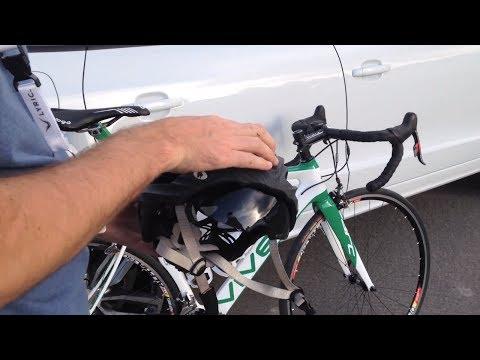 Aero road bike helmet - Retractable Visor