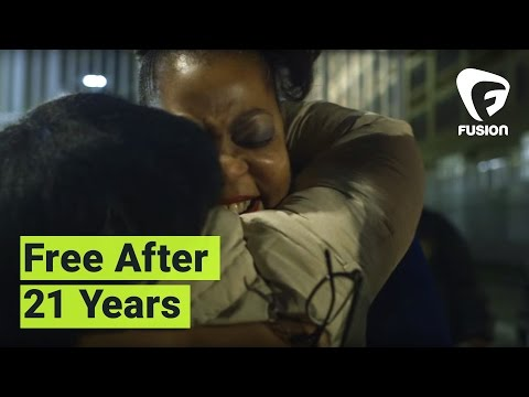 Watch Ramona Brant walk out of prison after 21 years behind bars