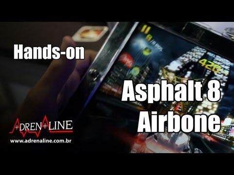 Hands-on: Asphalt 8: Airbone, game de corrida da Gameloft para plataformas móveis