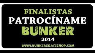 Finalistas - Patrocíname Bunker 2014
