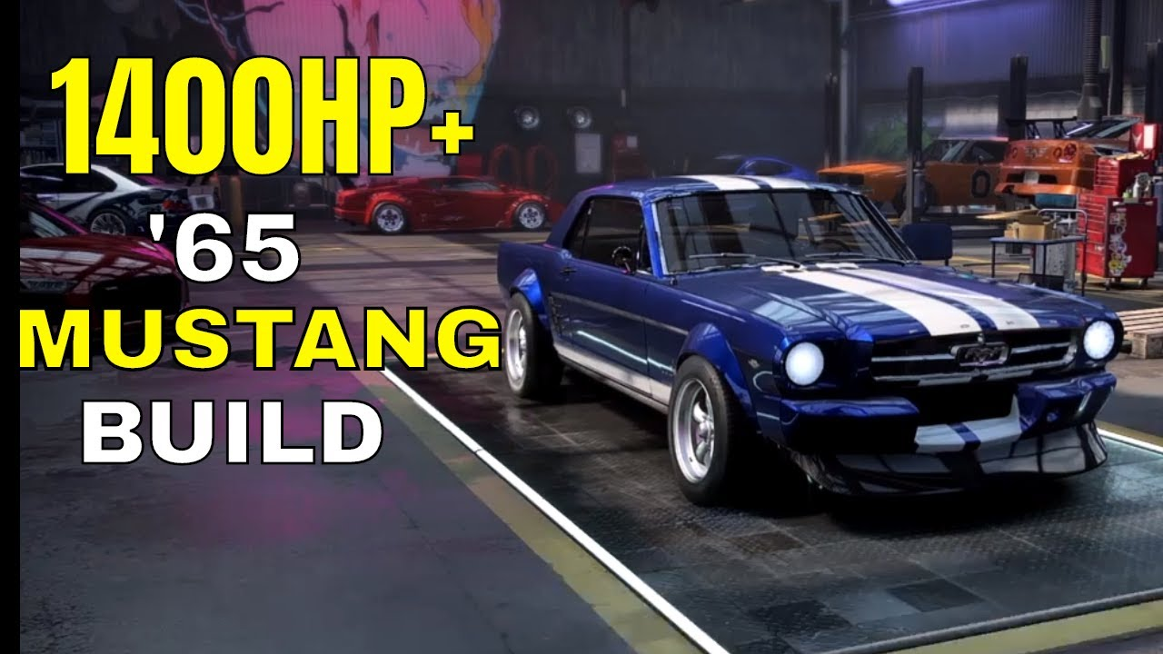 1000hp 65 Ford Mustang Customization Max Build Need For