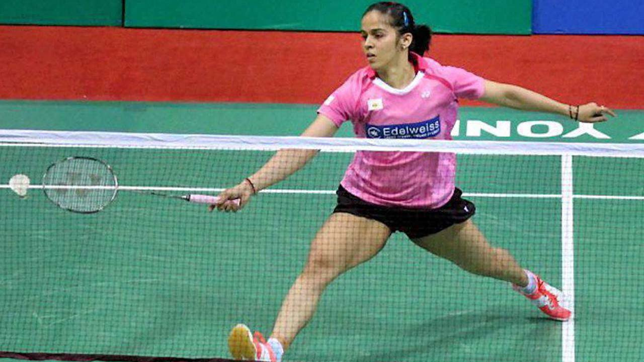 Saina Nehwal defeats Brazilian Lohaynny Vicente by 21 17 21 17 at