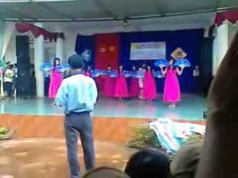 12B khóa 2009-2012 THPT Phan Đăng Lưu- đăklăk- Văn nghệ chào mừng 20/11