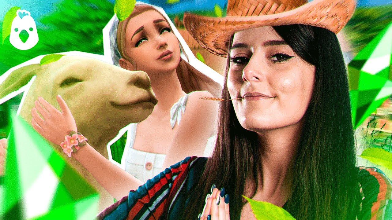J'adopte une POULE (elle s'appelle Christine) - Découverte les Sims 4 Vie à la campagne - Ultia
