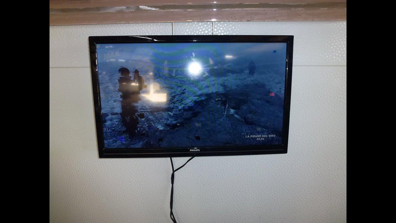Soporte television plegable para la ventana de nuestra cv for Soporte para tele