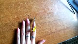 Наращивания ногтей  гелем с Алиэкспресс в домашних условиях/Гели за копейки с али/Как наносить гель?