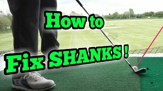 How to stop SHANKING Straight Away!! | Simple Golf Swing Drill