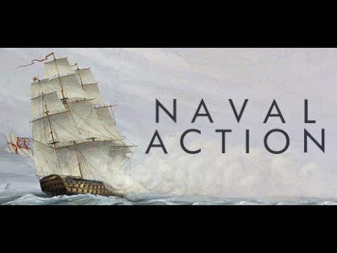 Naval Action [cz]    Live stream Part 3   TerraSancta.cz