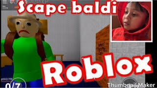 Roblox scape baldis schoolhouse Gameplay. Lito and frito roblox time lets go!