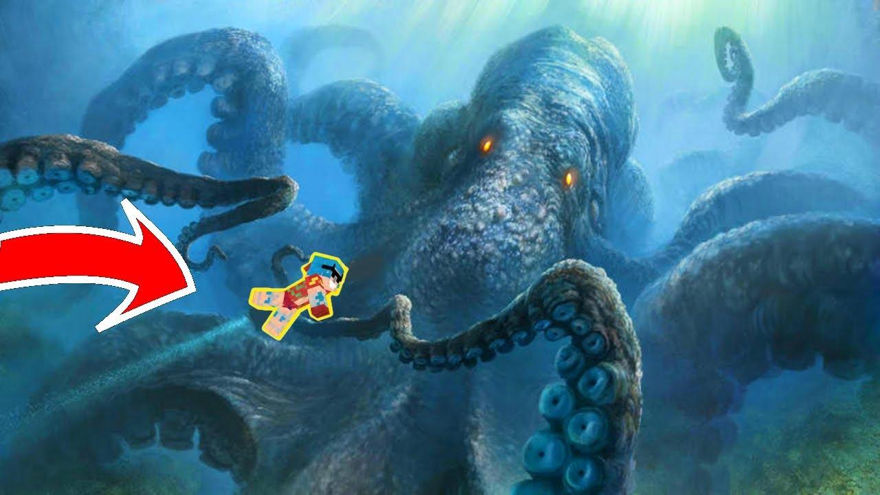 The Worlds Largest Cup Kraken Follows Minecraft Live