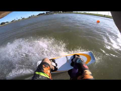 GoPro Hero 3+ Wakeboarding - Cable Park Israel 1080p