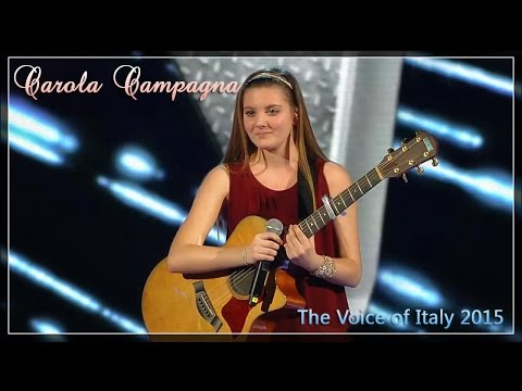 Carola Campagna -  The Voice of Italy 2015 | Dalle blind auditions alla finale