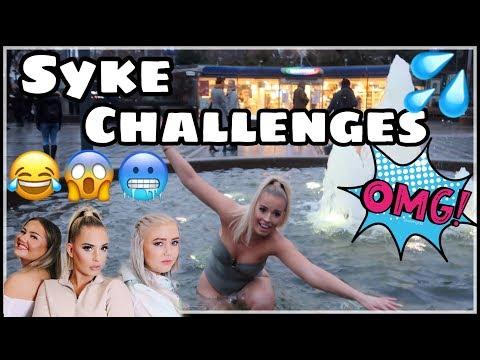 Bader I En Fontene & Går Rundt I Bikini - EN SYK VIDEO med Agnetesh og Carina Talling