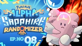 BLISSEY USED V CREATE? | Pokémon Omega Ruby & Alpha Sapphire Randomizer Nuzlocke - Episode 08