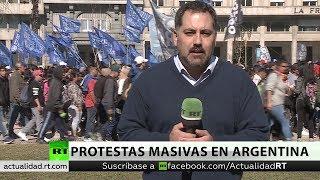 Argentina: La política económica del Gobierno genera protestas en vísperas de elecciones