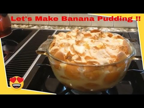 Banana Pudding Old Fashioned Southern Style