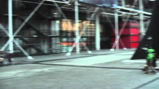 ФРАНЦИЯ: Очередь в библиотеку Жоржа Помпиду в Париже... France Paris