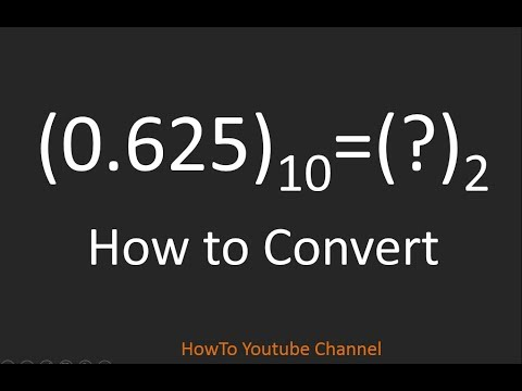 How to Convert Real number to Binary format