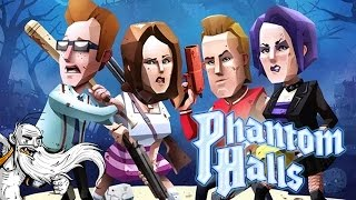"Phantom Halls Gameplay - ""HAUNTED HOUSE FROM HECK!!!""  - Let"