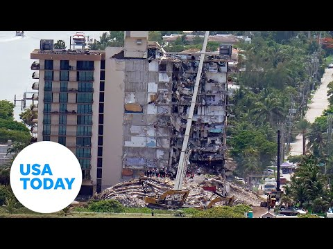Authorities update search at Miami-area condo collapse site | USA TODAY